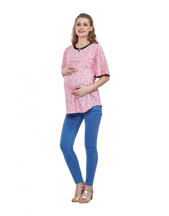 GOLDSTROMS Womens Printed Maternity Tunic