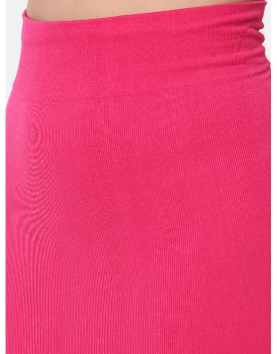 Women Fuchsia Saree Shapewear