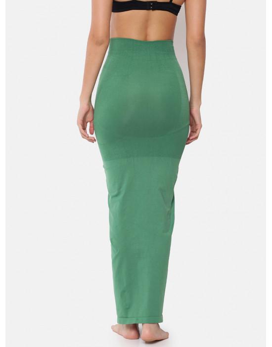 Women Green Saree Shapewear
