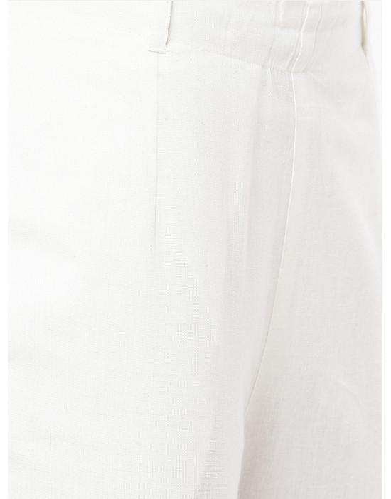 Women Brown & White Printed...