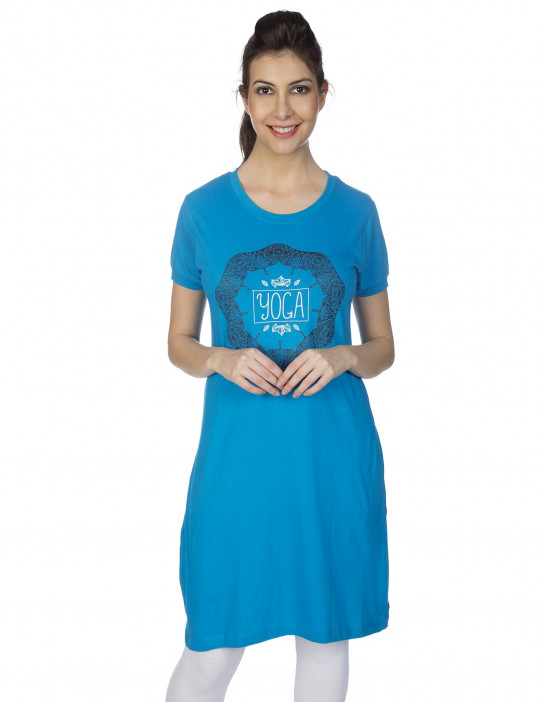 Women's Super Long Tunic with Side Pocket