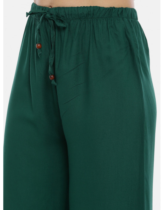 Womens Dark.Green Solid...