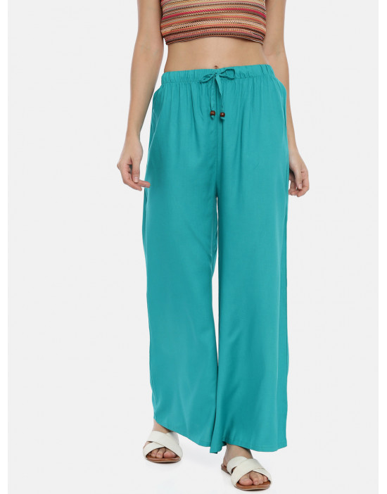 Womens R.Green Solid Cotton...