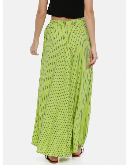 Womens Green Colored &...