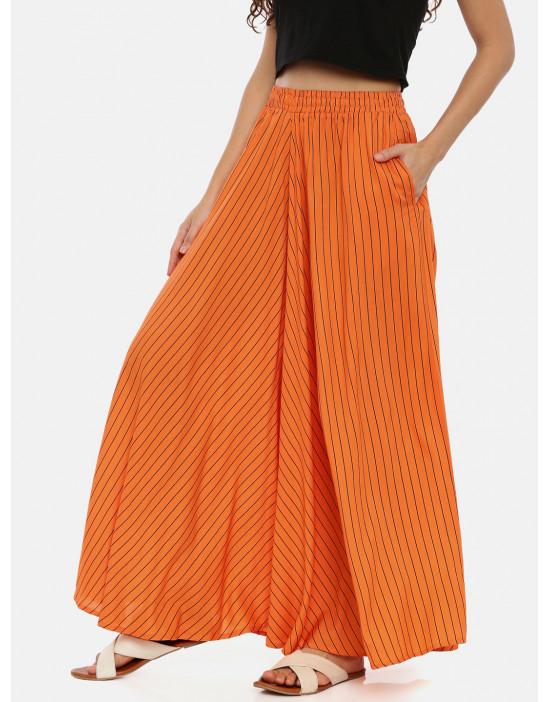 Womens Orange Colored &...