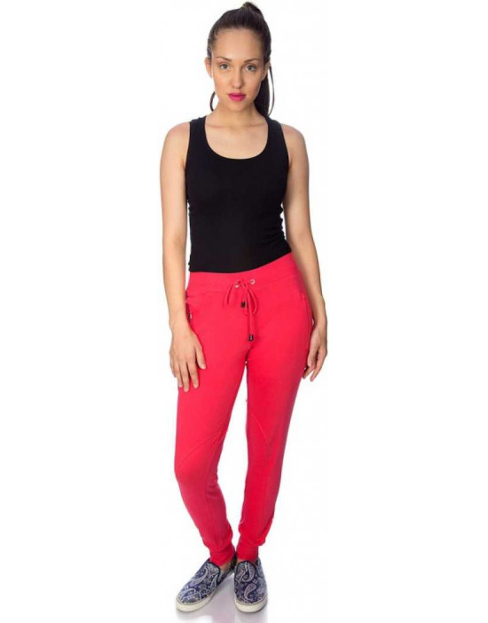 Womens Peach Narrow Bottom...