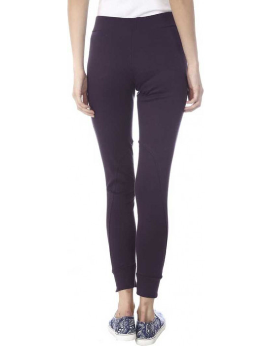 Womens Purple Narrow Bottom...