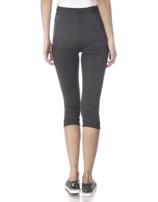 Womens Charcoal Grey Solid...