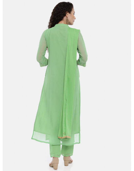 Womens Light Green...