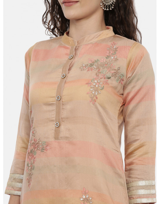 Womens Peach Coloured...