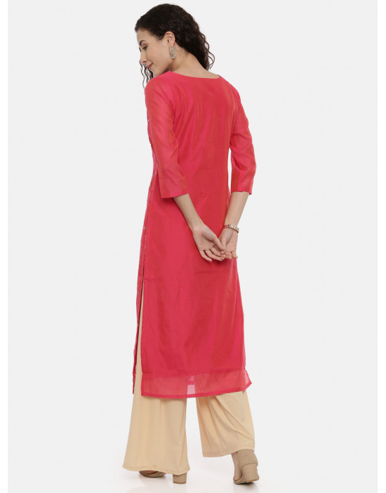 Womens Red Coloured...