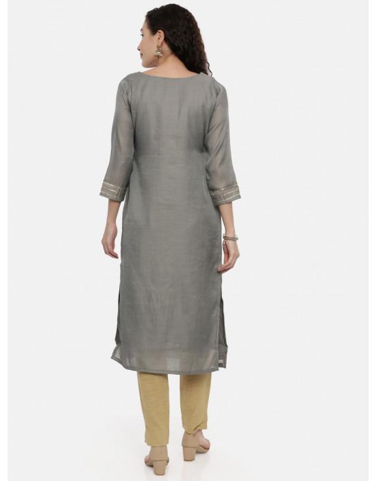 Womens Grey Coloured...