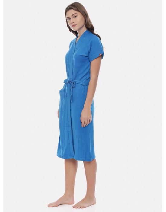 Womens Cotton Blue Color...