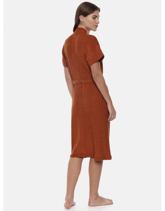 Womens Cotton Brown Color...