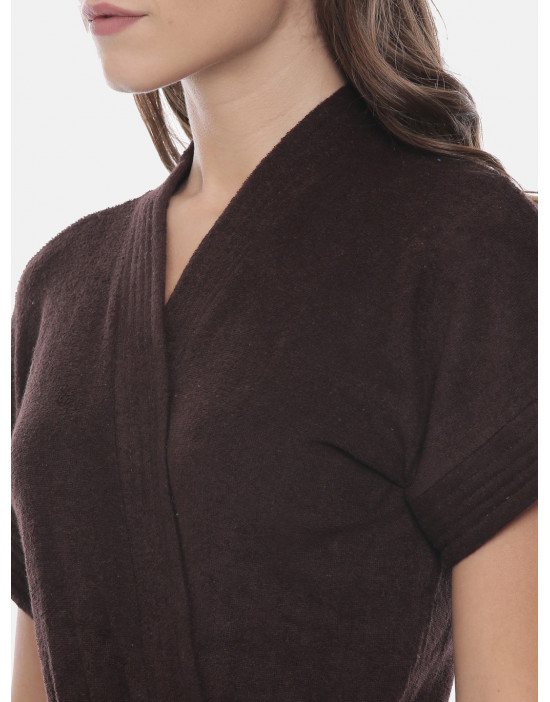 Womens Cotton Coffee Color...