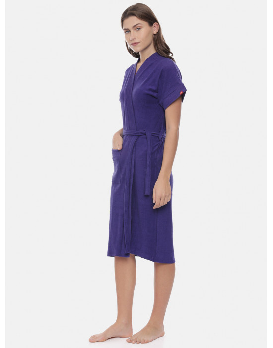Womens Cotton Dark Royal...