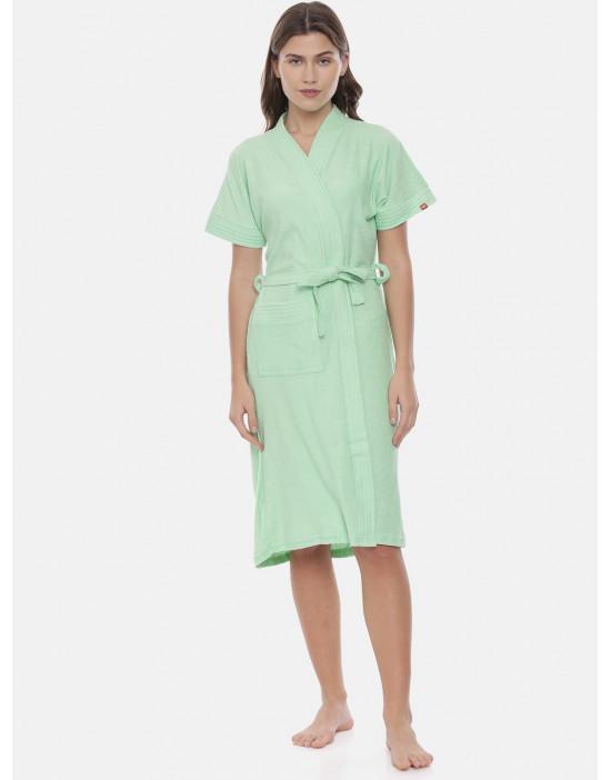 Womens Cotton Pista Color...