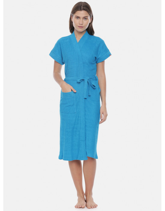 Womens Cotton Turquoise...
