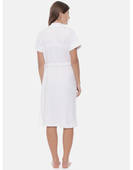 Womens Cotton White Color...