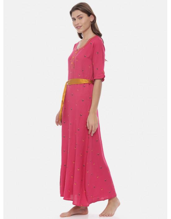 Womens Fuchsia Color...