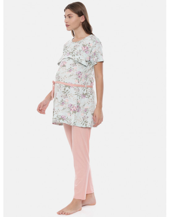 Womens Maternity Printed...