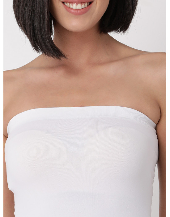 Womens Tube Top Spandex...