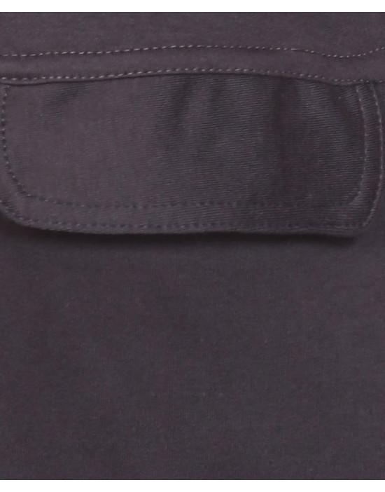 Men's Jogger Bermuda Shorts with Zipper