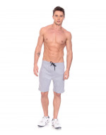 Men's Jogger Bermuda Shorts with Zipper