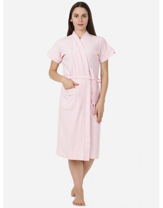 Womens Pink Color Plain...