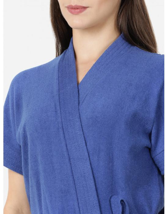 Womens R.Blue Color Plain...