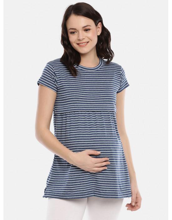 Womens Navy Maternity...