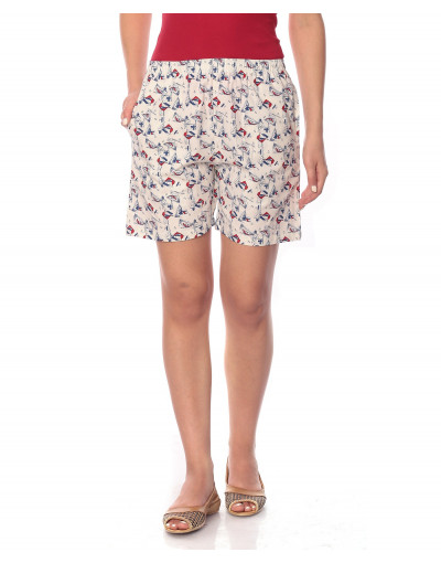 Women's Woven Cotton Short