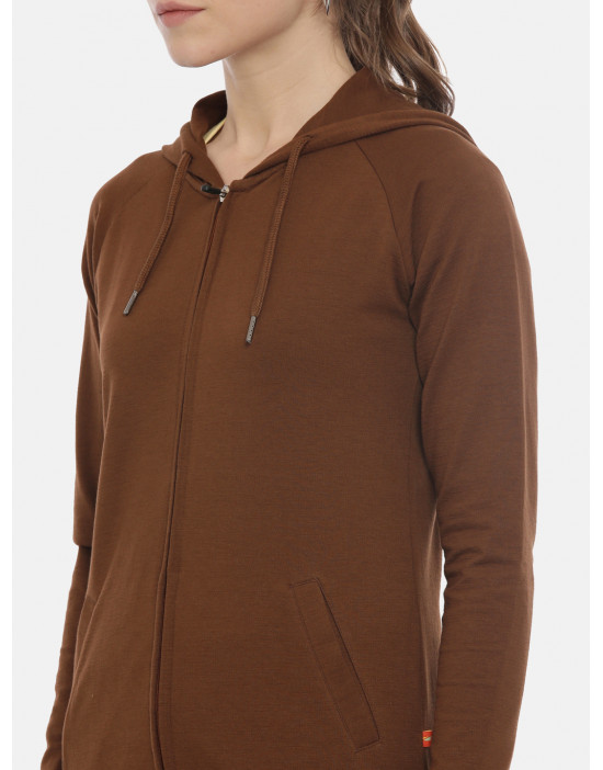 Womens Brown Color Solid...