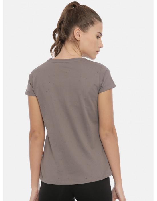 Womens Grey Color Printed...