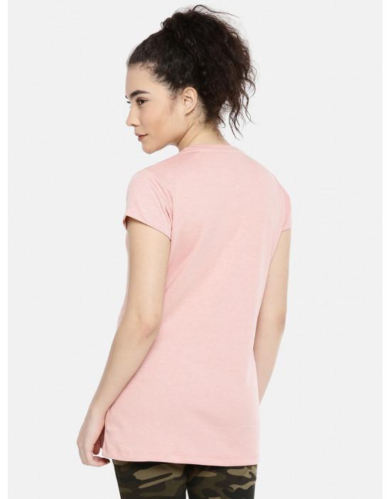 Womens Printed Half Sleeve...