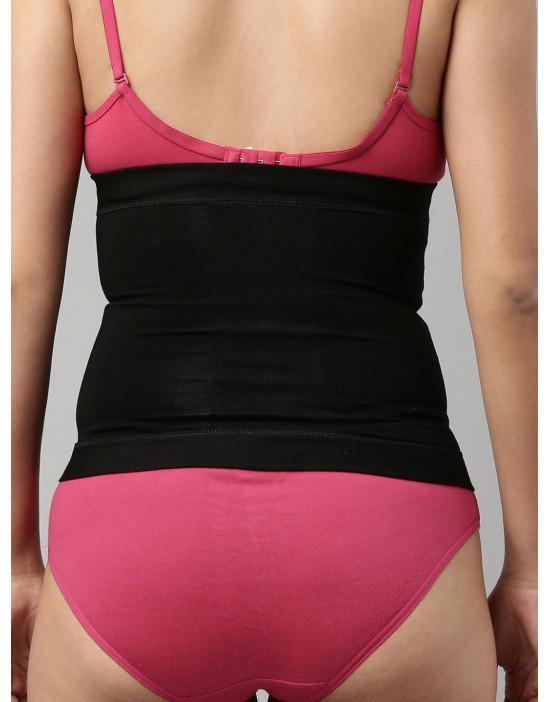 Womens Black Color Tummy...