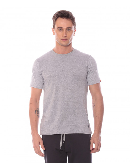 Men's Solid Round Neck and Half Sleeve T-shirt - Goldstroms