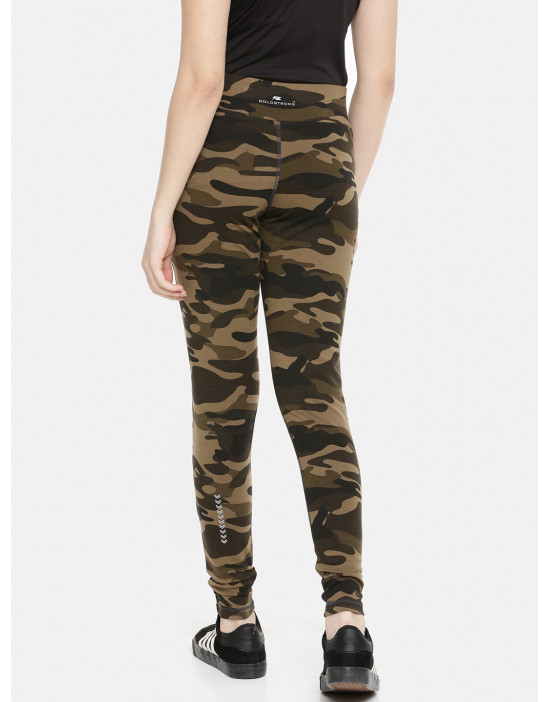 Womens Camouflage Printed...