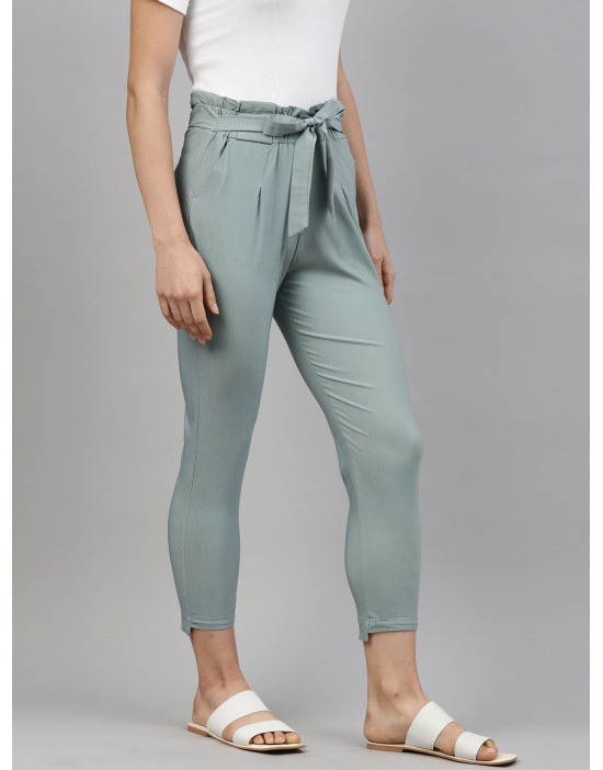 Womens Slim Fit Solid...