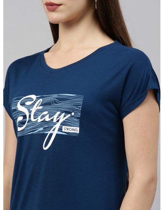 Womens Longline T-shirt -...