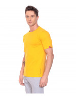 Men's Solid Round Neck and Half Sleeve Tshirt