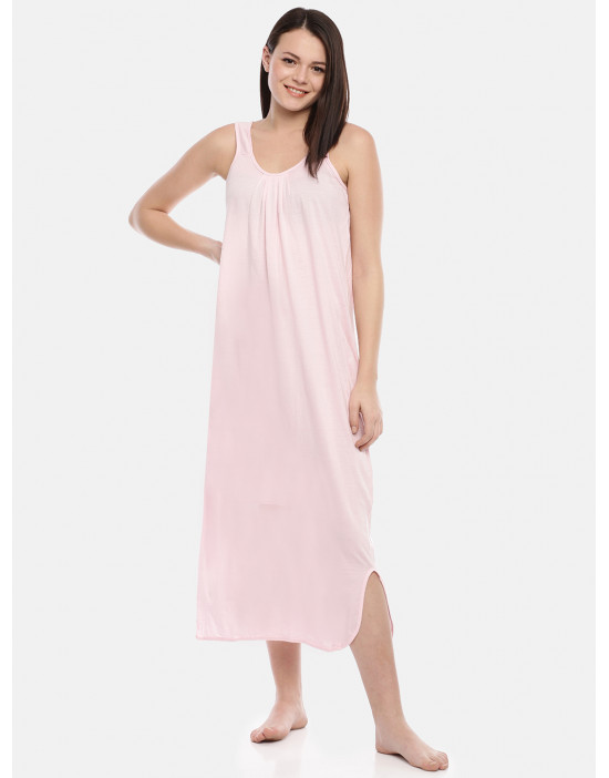 Womens Pink Color Cotton...