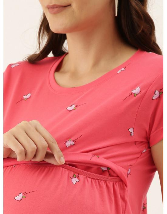 Womens Maternity Nursing Tee