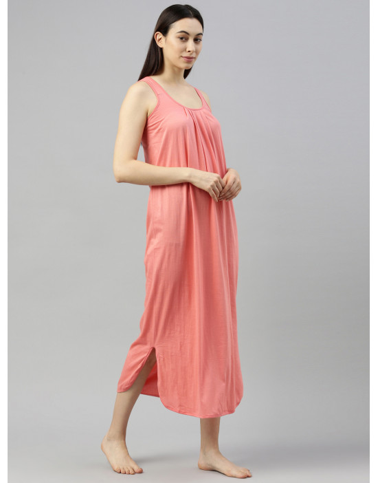 Womens Carrot Color Long...