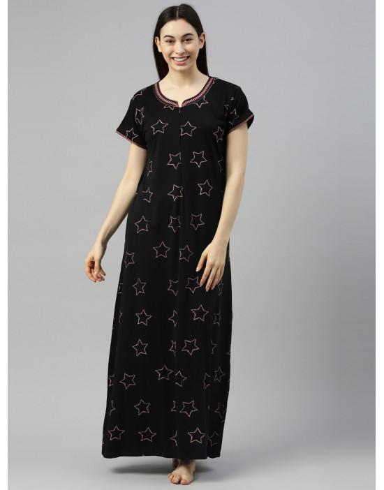 Womens Regular Long Nightdress