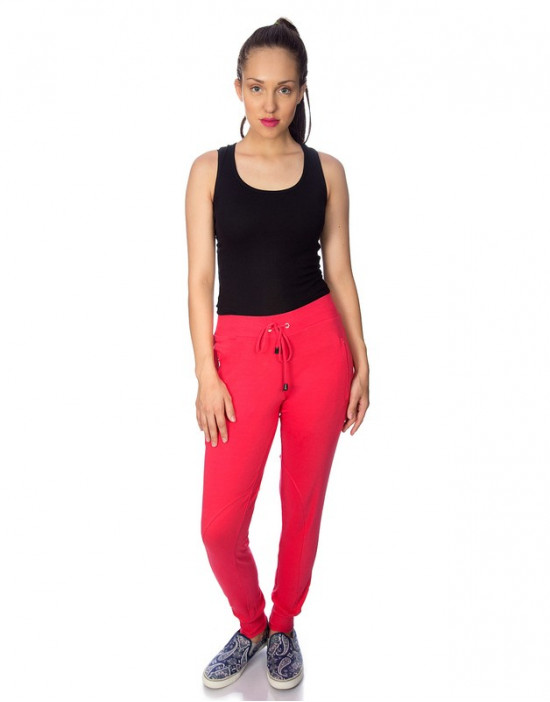 Narrow Bottom Pant With Side Pockets For Women - GoldStroms