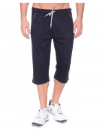 Men's Jogger Capri with Zipper Pocket and Flap Back Pocket