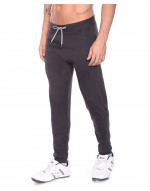 Men's Solid Cotton Rib Jogger/Track pan