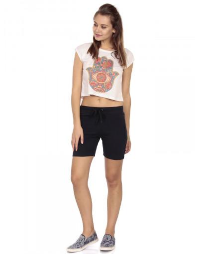Women's Slim Fit Shorts with Zipper Pocket - Goldstroms