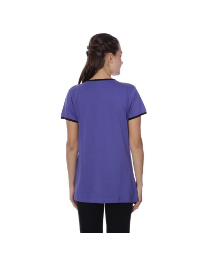 Women's Minelli Round Neck Front Top Botton Nightwear - Goldstroms